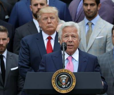 Patriots owner Robert Kraft 'deeply disappointed by the tone' of Trump's comments