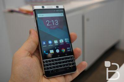 BlackBerry KeyOne official at MWC