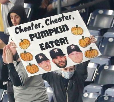 What Astros thought of Yankees fans merciless booing