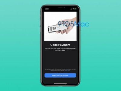 You may soon be able to scan a QR code and pay with Apple Pay