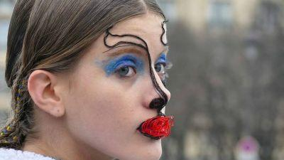Pat McGrath's Makeup for Maison Margiela's Spring Couture Show Was Jaw-Dropping