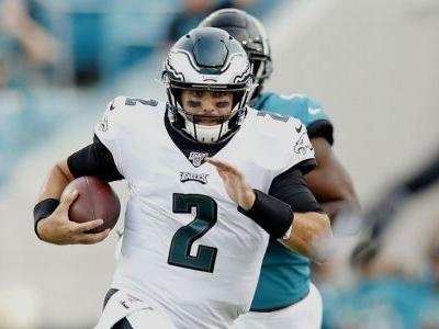 Eagles' Cody Kessler being evaluated for head injury, report says