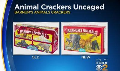 Cage Free: Animal Crackers No Longer Behind Bars On New Packaging