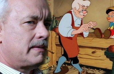 Tom Hanks Wanted as Geppetto in Disney's Pinocchio