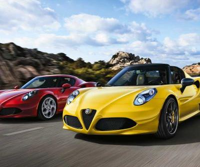 Alfa Romeo 4C Coupe Gets The Axe, Spider Lives On