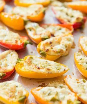 Stuffed Mini Peppers