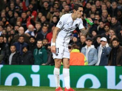 PSG's Di Maria expected United fans' abuse, accused of swearing in reply