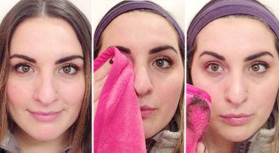 This Towel Is the Lazy Woman's Solution to Makeup Removal