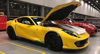 New Ferrari 812 Superfast Looks The Business In Yellow