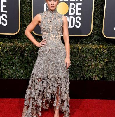 Emily Blunt Makes the Case for Understated Awards Show Style at the 2019 Golden Globes