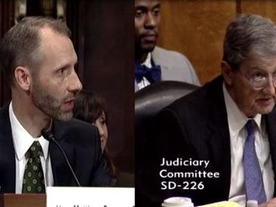 Senator grills federal judge nominee who struggles to answer legal questions