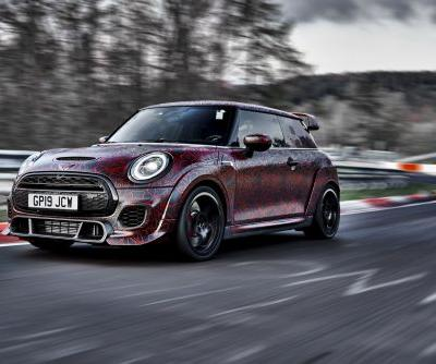 New MINI John Cooper Works GP Lapped The 'Ring In 7:56:69