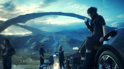 Final Fantasy XV performs pretty well on both consoles, with a couple of minor caveats