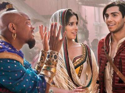 Disney's Live-Action Aladdin TV Spot Reveals First Look At Will Smith's Blue Genie