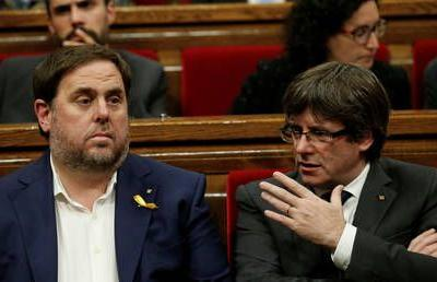 Spain sentences Catalan separatist leader to 13yrs in prison while Puigdemont remains in exile