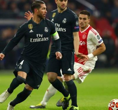 'I'm a big VAR fan' - Ramos celebrates controversial overturned goal after Ajax victory