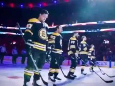 'We are made for this:' Chara, Brady team up in Stanley Cup hype video