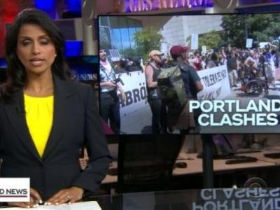 CBS goes full fake news; tries to claim Antifa violence in Portland was committed by peaceful patriot groups