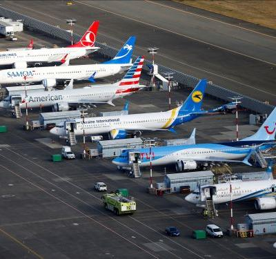 Boeing plans to hire hundreds of temp workers to help deliver grounded 737 Max airplanes, but the families of people who died in a crash involving the plane say not so fast