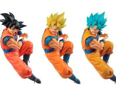 "Bandai Celebrates ""Goku Day"" With Three Special Goku Figures"