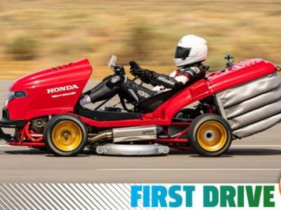 The World's Fastest Lawnmower Is Exactly as Bonkers to Drive as It Looks
