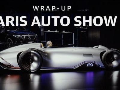 Here's what you missed at the 2018 Paris Auto Show