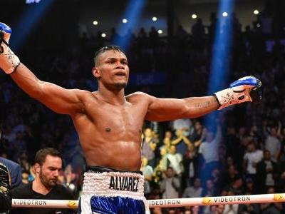 Eleider Alvarez claims WBO light heavyweight title with stunning 7th-round KO of Sergey Kovalev