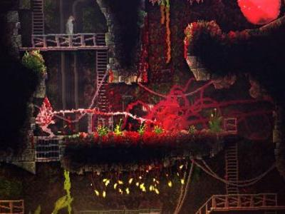 Devolver Digital's Carrion Blends Metroidvania and Katamari - E3 2019 Hands-On Preview