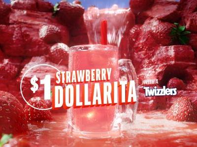 Applebee's Is Selling $1 Strawberry Margaritas Again, Now With a Special Twist
