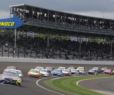 The Latest: Keselowski hands Team Penske 1st Brickyard win