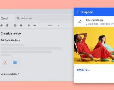 Dropbox for Gmail add-on makes it easier to send and save files