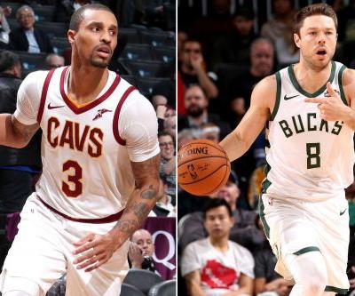 Cavaliers ship George Hill to Bucks, get Dellavedova back
