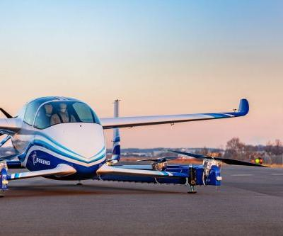 Boeing's experimental autonomous aircraft completes its first test flight
