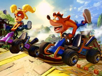 Crash Team Racing Nitro-Fueled - A Look At Dragon Mines Track And PS4 Exclusive Retro Stadium
