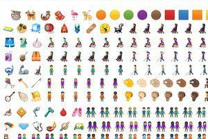 Talk like a caveman with 270 new emojis for your phone, and 'pinching hands' uncensored