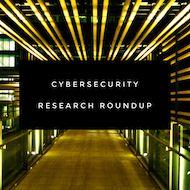 January 2019 Cybersecurity Research Roundup