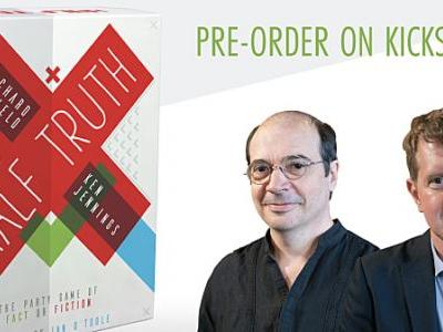 Half Truth Interview with Richard Garfield and Ken Jennings