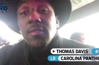 'Today, it's about us': Panthers LB Thomas Davis is ready to take on the Eagles