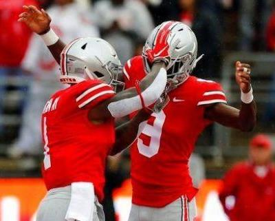 No. 4 Ohio State routs Rutgers, looks ahead to bigger test