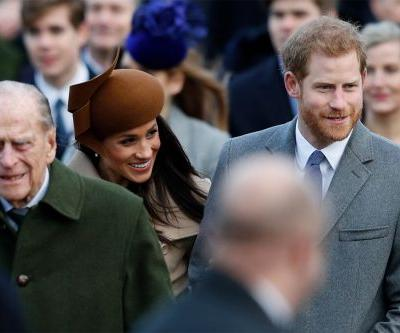 Pregnant Meghan Markle won't join Harry at Prince Philip's funeral
