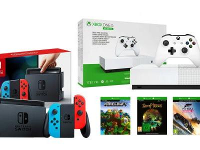 Nintendo Switch, Digital Xbox One Bundled For $400 In Crazy Prime Day Deal