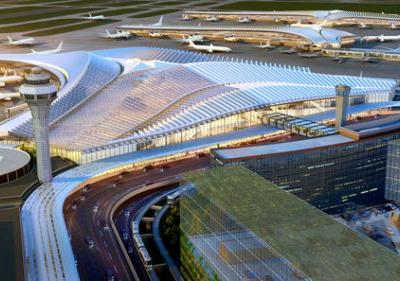 Studio Gang to Lead Winning Chicago O'Hare Airport Expansion
