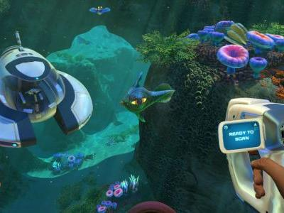 Subnautica is now free on the Epic Store for a limited time