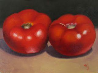 Pair of Tomatoes- SOLD
