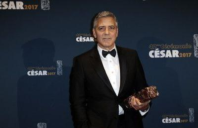 George Clooney injured in bike collision with car in Sardinia - local media
