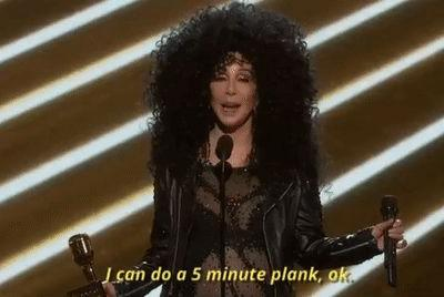 Cher's amazing 90s workout video is a huge 2019 mood