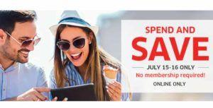 The Source's answer to Amazon Prime Day is 'Spend and Save' promo