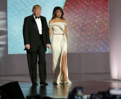 Days before the inauguration, Melania Trump called. Now the gown he made her is part of history