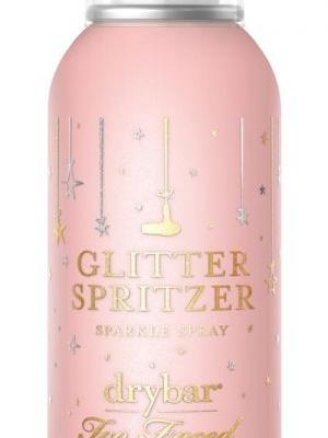 Too Faced & Drybar's Glitter Spritzer Hairspray Is Here & My Review Is Glowing
