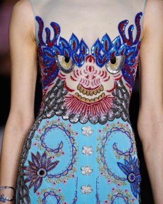 Awaking The Dragon: GEORGES HOBEIKA Couture Spring-Summer